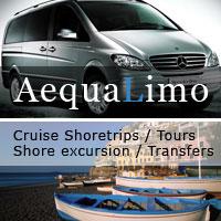 AequaLimo - Shore excursion - Cruise Shoretrips - Amalfi & Sorrento Coast