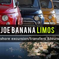 Joe Banana Limos - Shore excursion - Cruise Shoretrips - Amalfi & Sorrento Coast - Tours